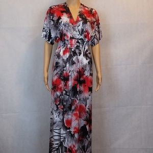 One world live and let live size M dress Red Maxi